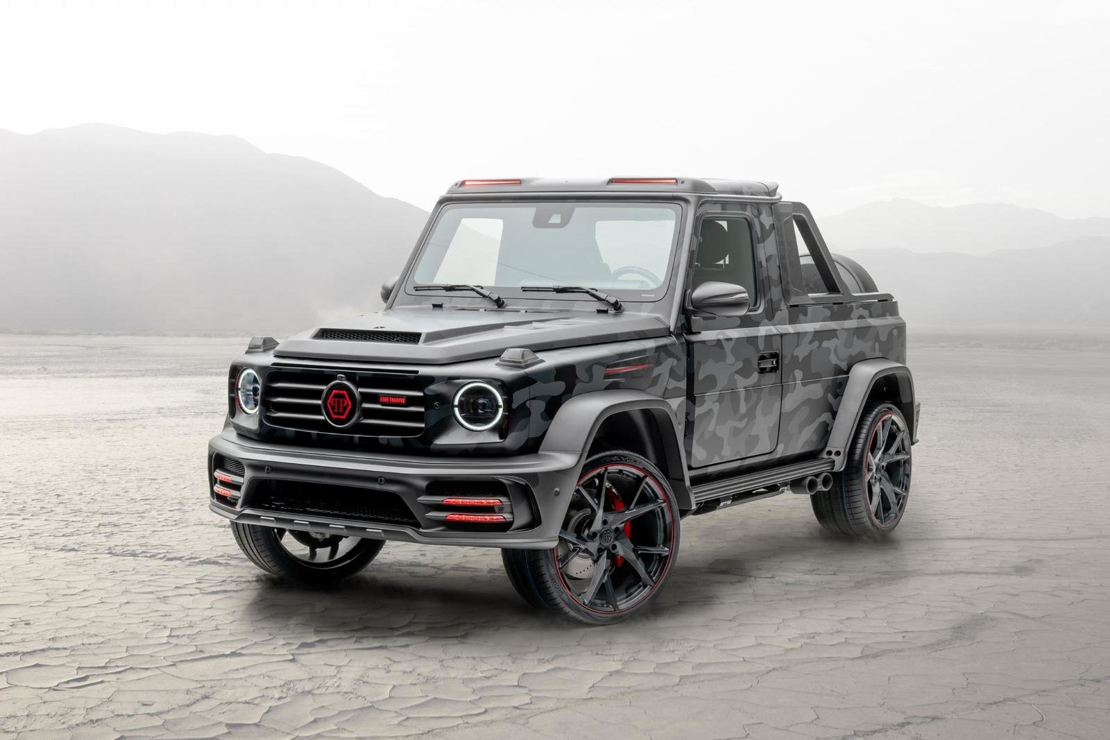 2020 Mercedes-Benz G-class Star Trooper Pickup By Mansory (1)