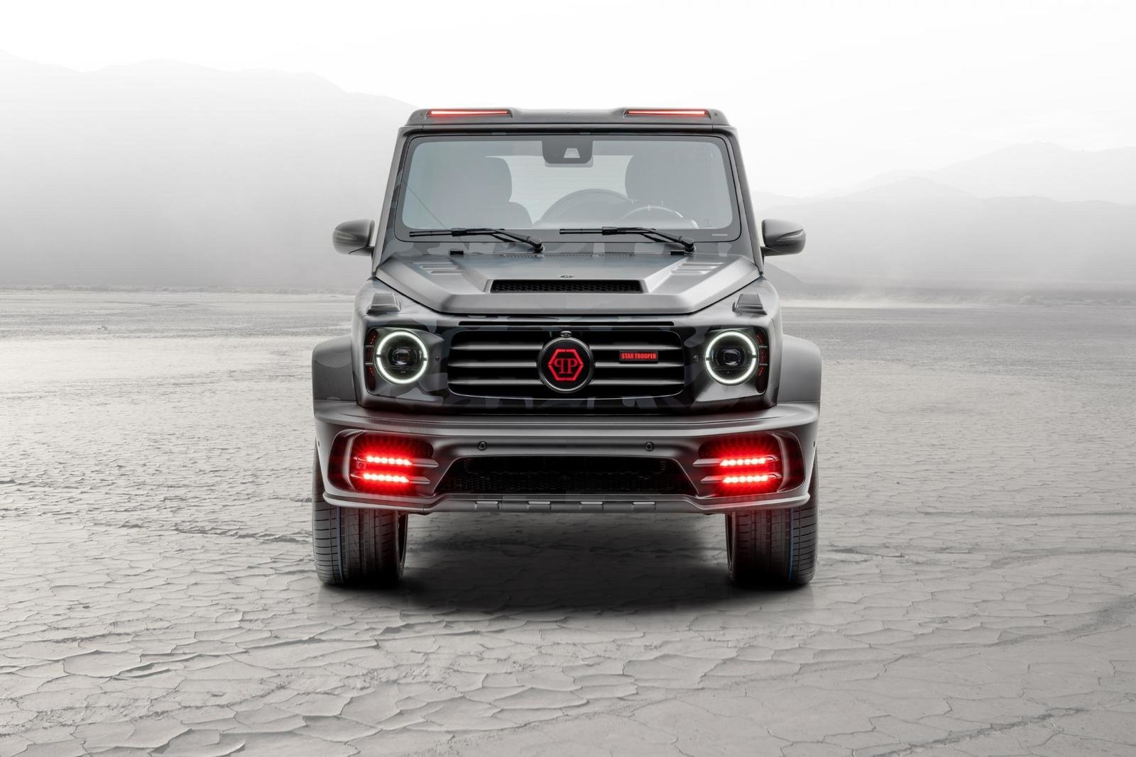 2020 Mercedes-Benz G-class Star Trooper Pickup By Mansory (3)