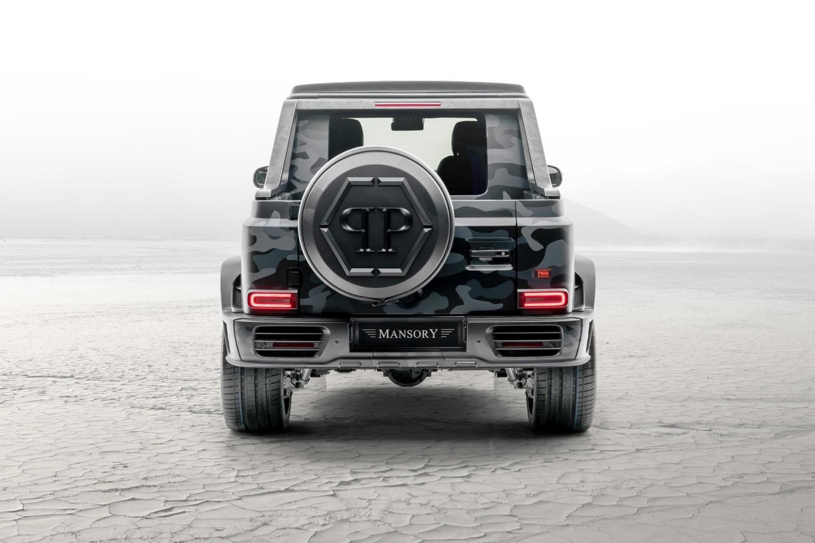 2020 Mercedes-Benz G-class Star Trooper Pickup By Mansory (4)