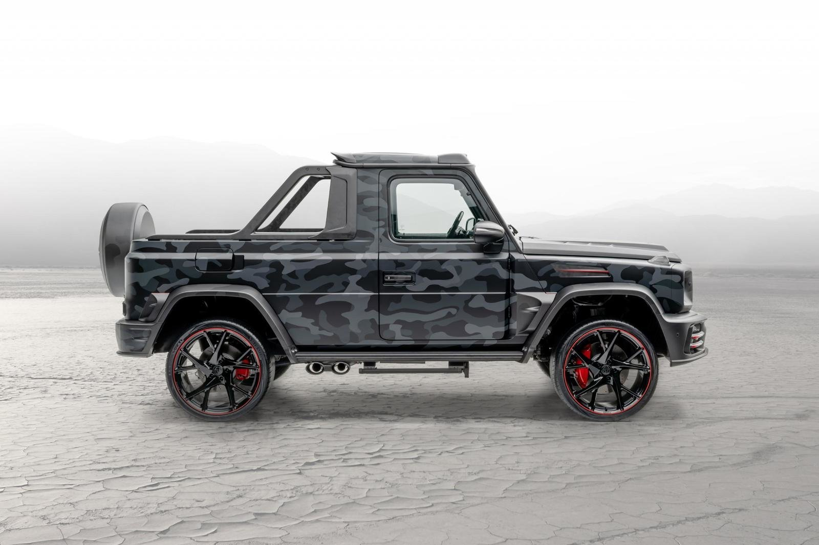 2020 Mercedes-Benz G-class Star Trooper Pickup By Mansory (5)
