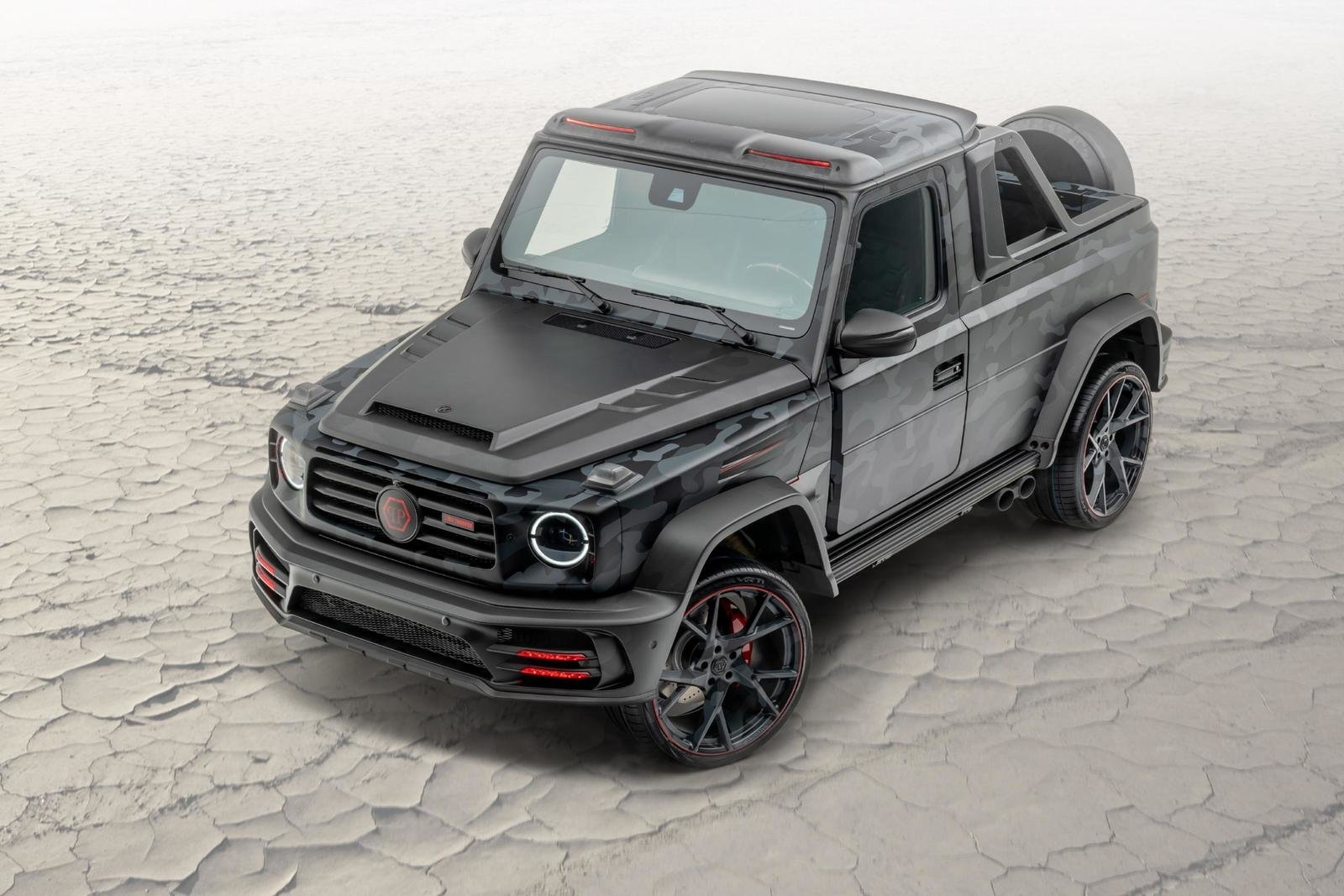 2020 Mercedes-Benz G-class Star Trooper Pickup By Mansory (6)