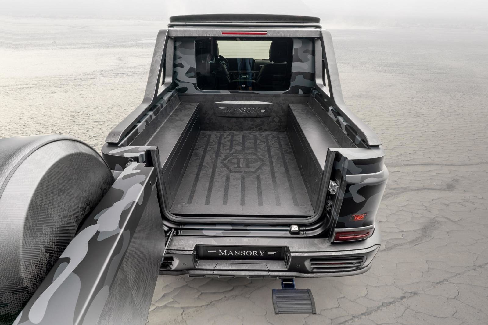 2020 Mercedes-Benz G-class Star Trooper Pickup By Mansory (7)