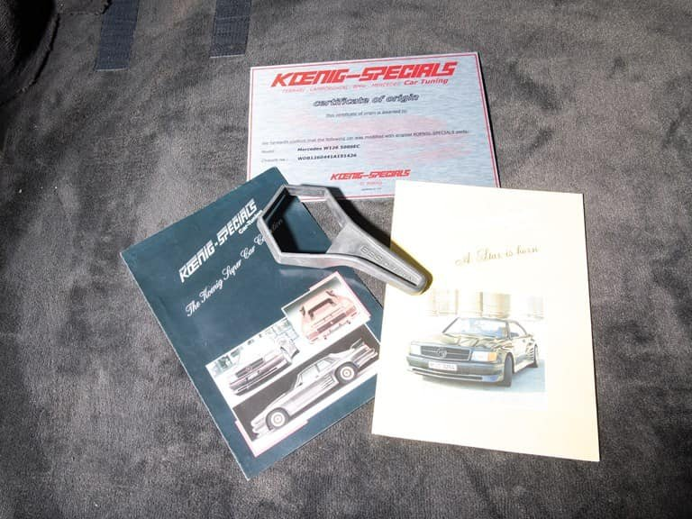 Mercedes-Benz 500SEC Koenig Edition 1986 (7)