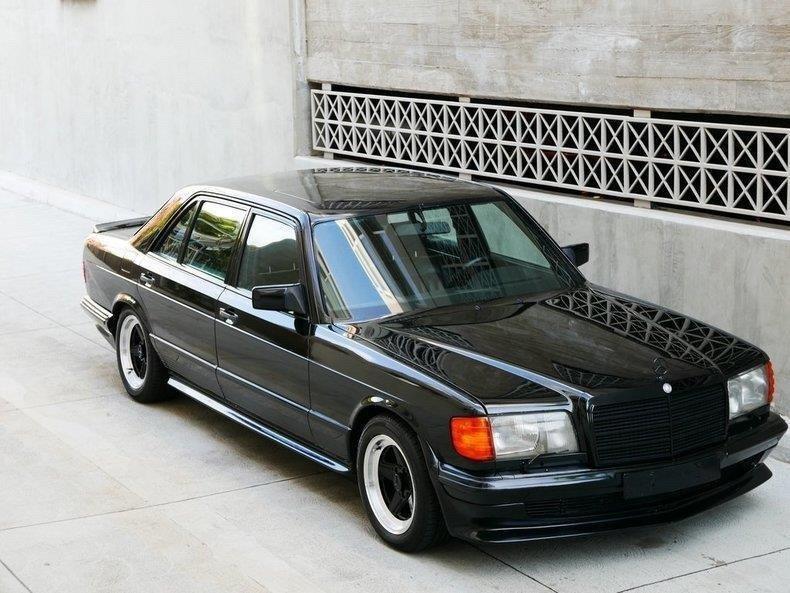 Mercedes-Benz 500SEL AMG Edition 1983 (4)