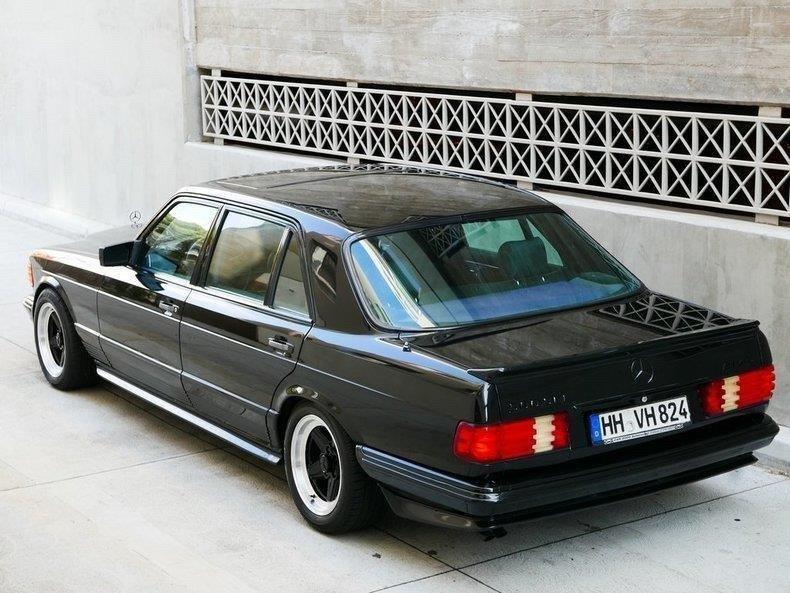 Mercedes-Benz 500SEL AMG Edition 1983 (9)