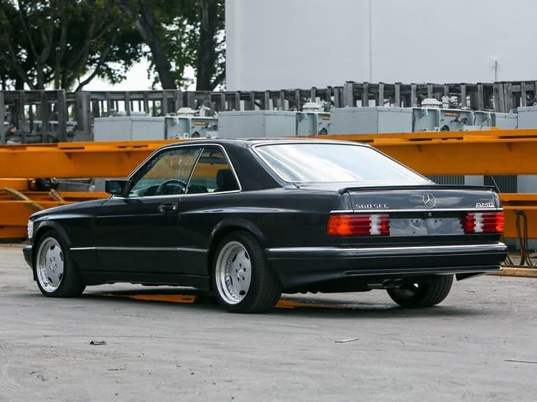 Mercedes-Benz 560SEC AMG 1990 (14)