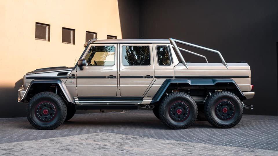 Mercedes-Benz BRABUS 6x6 G700 W463 (23)