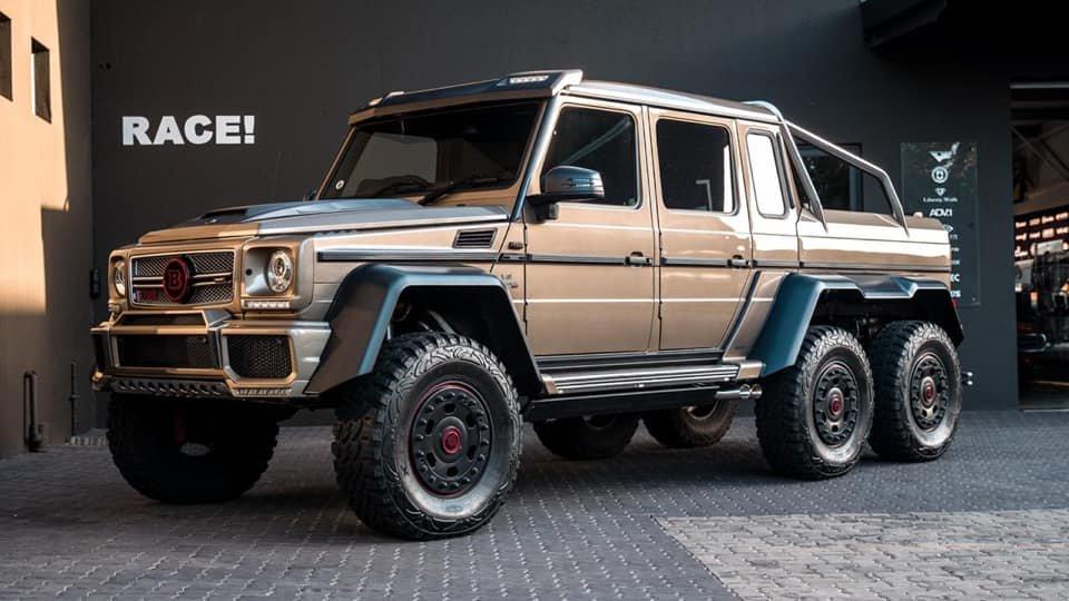 Mercedes-Benz BRABUS 6x6 G700 W463 (3)
