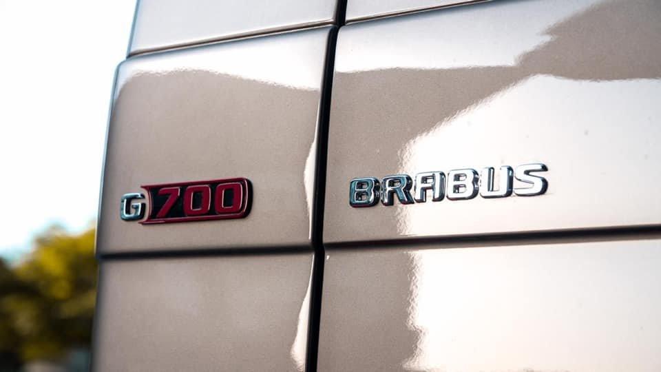 Mercedes-Benz BRABUS 6x6 G700 W463 (5)
