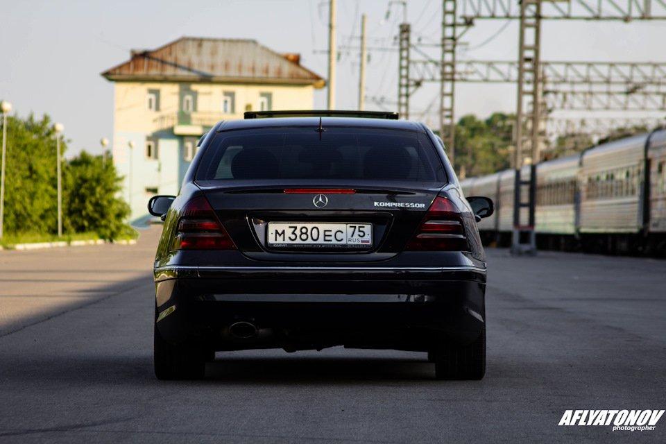 Mercedes-Benz C230 Kompressor, W203 (24)