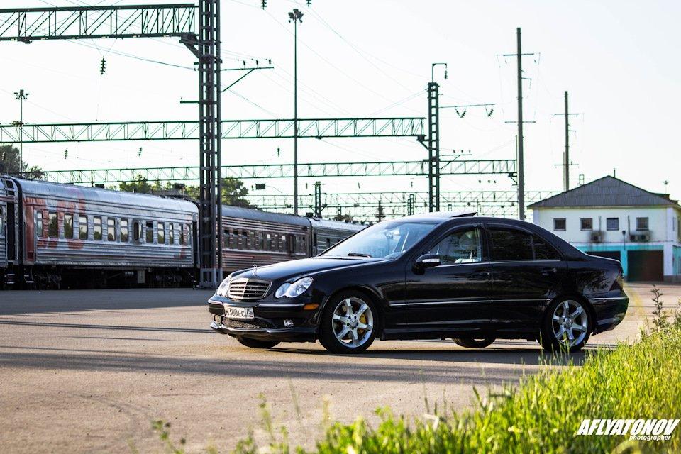 Mercedes-Benz C230 Kompressor, W203 (25)