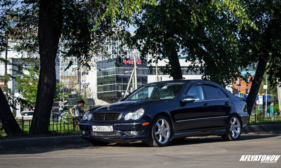 Mercedes-Benz C230 Kompressor, W203 (3)