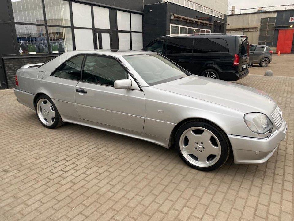 Mercedes-Benz CL500 C140 320HP 1998 (11)