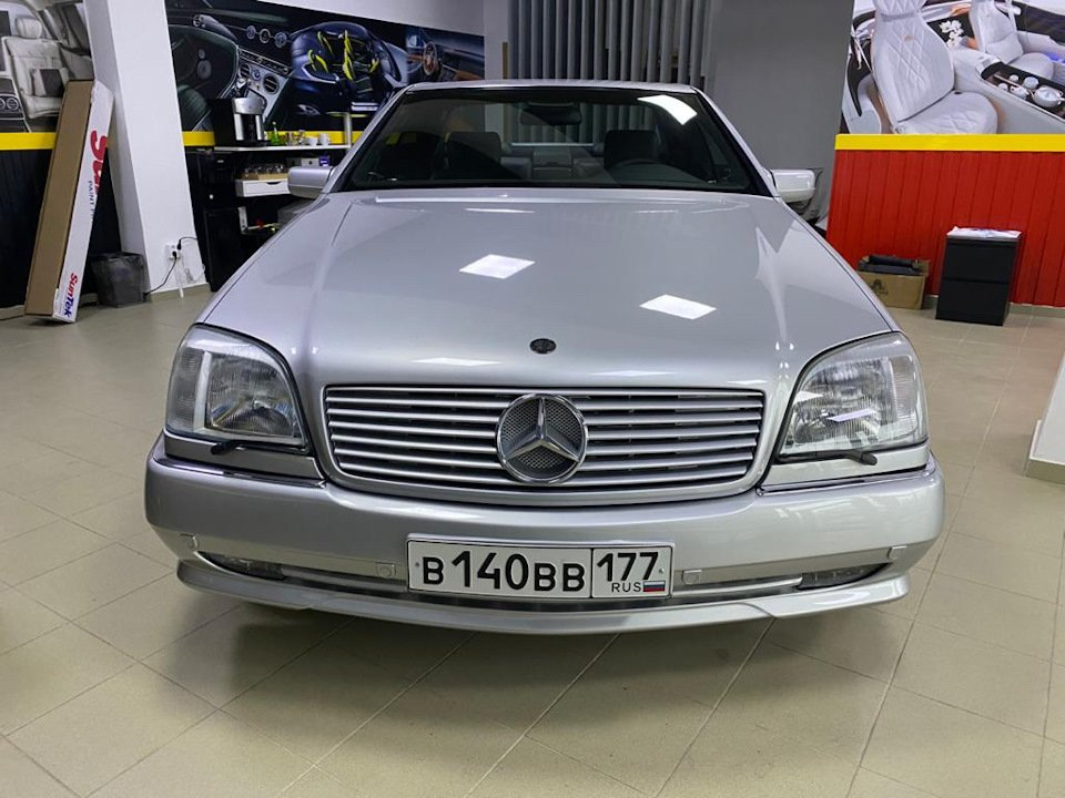 Mercedes-Benz CL500 C140 320HP 1998 (12)