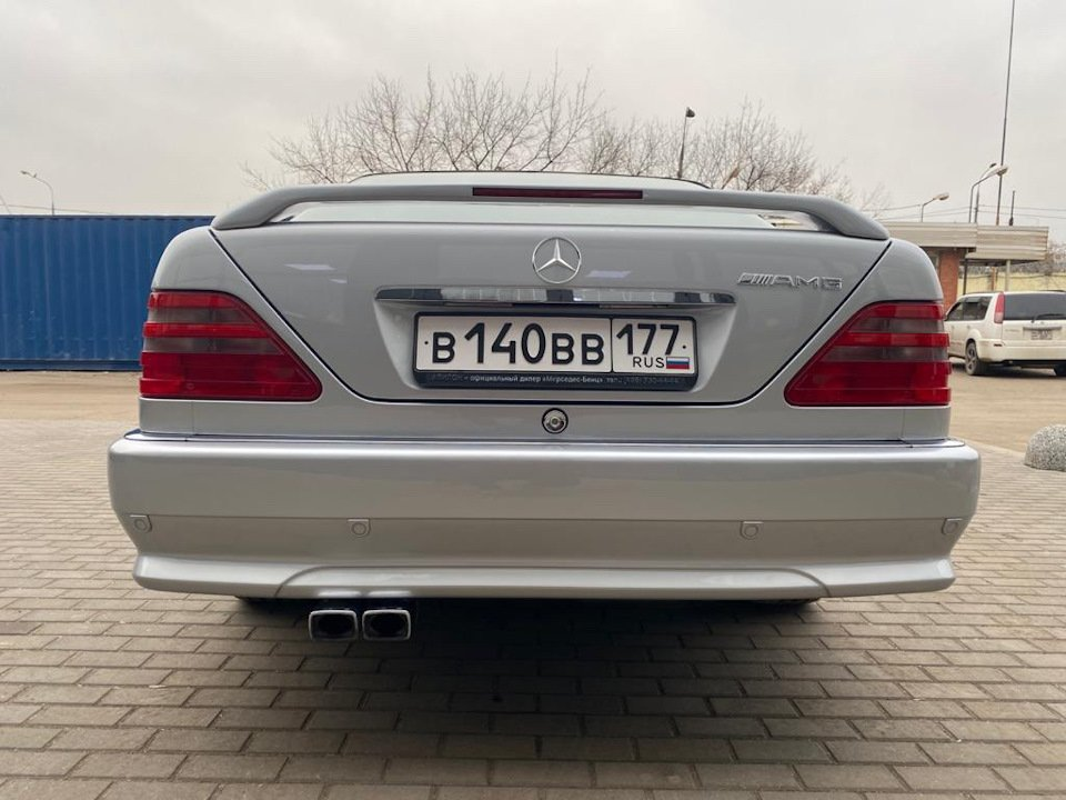 Mercedes-Benz CL500 C140 320HP 1998 (14)