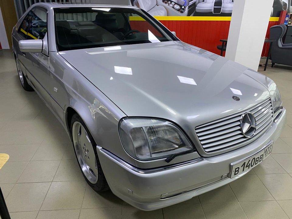 Mercedes-Benz CL500 C140 320HP 1998 (15)