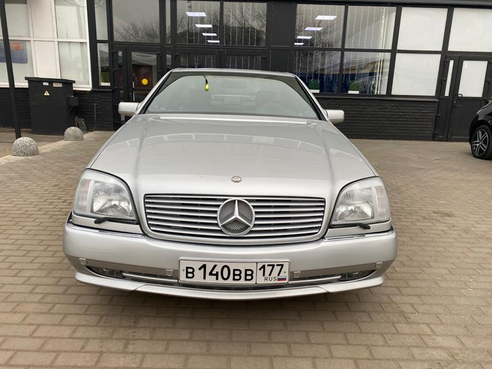 Mercedes-Benz CL500 C140 320HP 1998 (17)