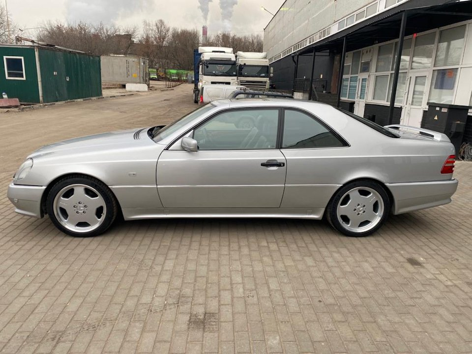 Mercedes-Benz CL500 C140 320HP 1998 (19)