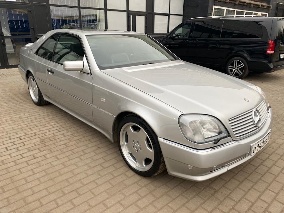 Mercedes-Benz CL500 C140 320HP 1998 (1)