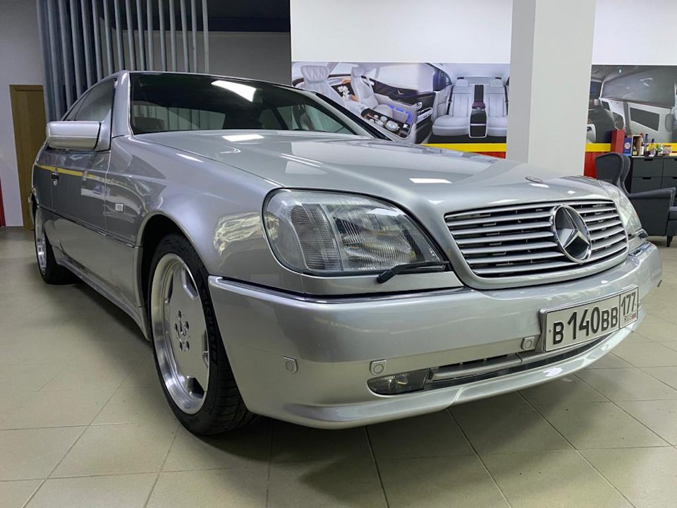 Mercedes-Benz CL500 C140 320HP 1998 (21)
