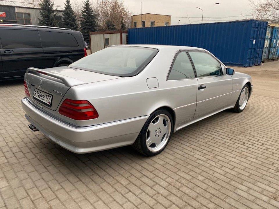 Mercedes-Benz CL500 C140 320HP 1998 (22)