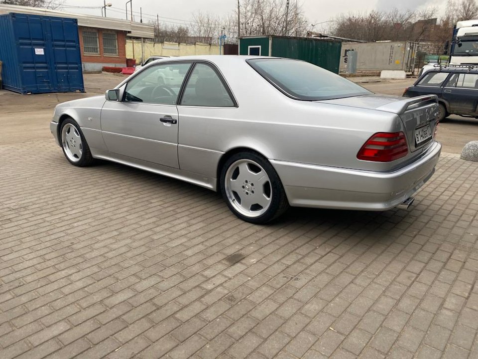 Mercedes-Benz CL500 C140 320HP 1998 (25)