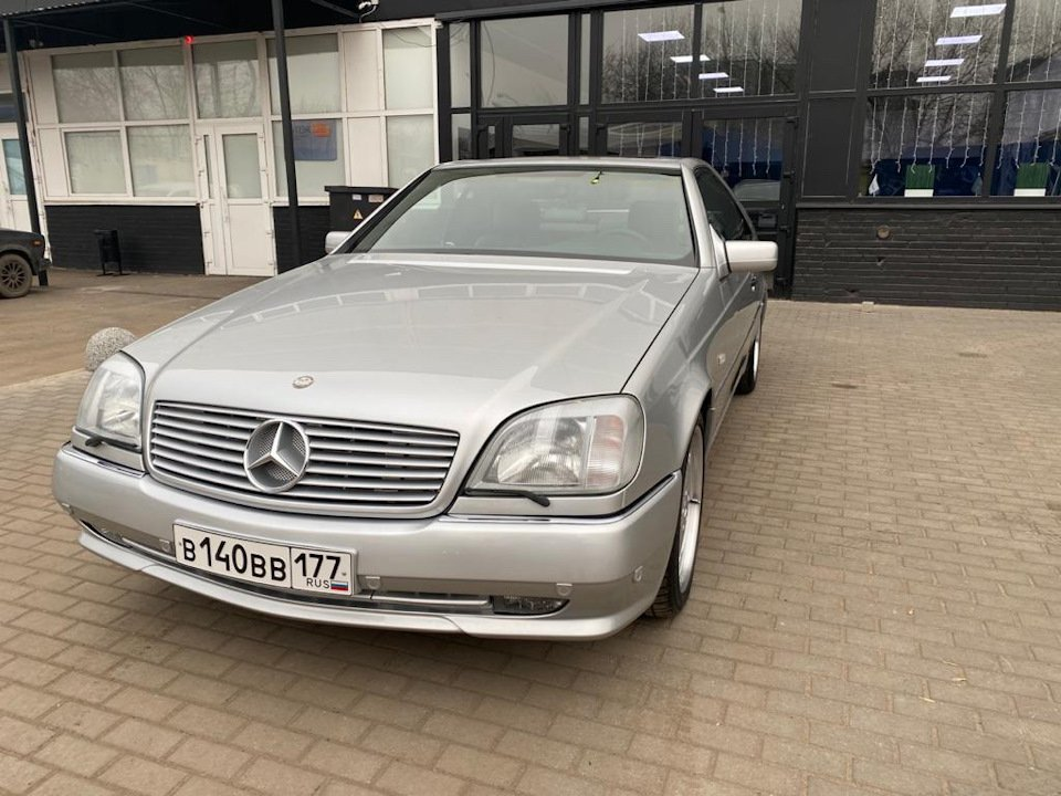 Mercedes-Benz CL500 C140 320HP 1998 (27)