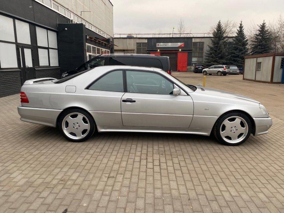Mercedes-Benz CL500 C140 320HP 1998 (29)