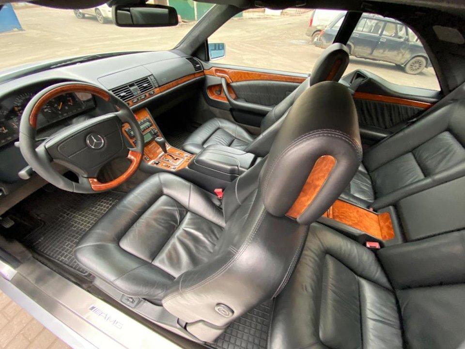 Mercedes-Benz CL500 C140 320HP 1998 (2)
