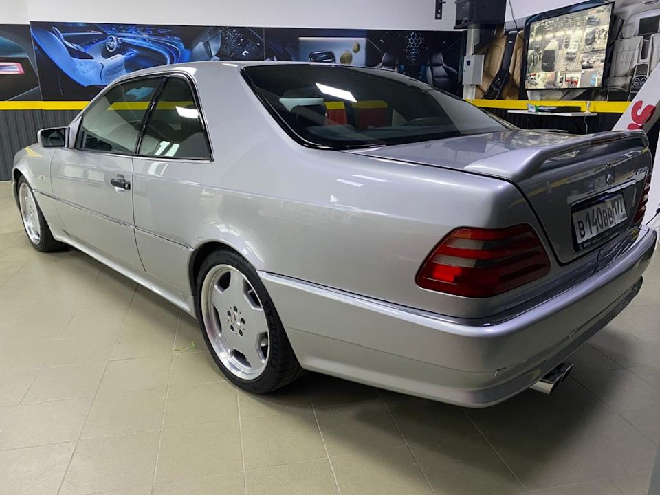 Mercedes-Benz CL500 C140 320HP 1998 (32)