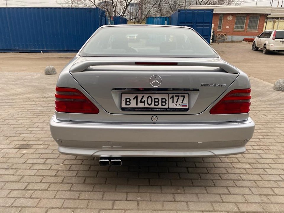 Mercedes-Benz CL500 C140 320HP 1998 (4)