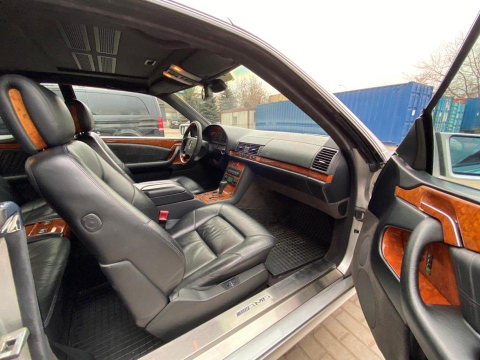 Mercedes-Benz CL500 C140 320HP 1998 (5)