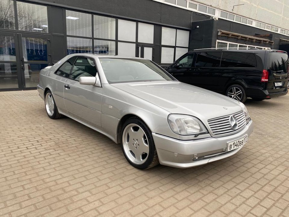 Mercedes-Benz CL500 C140 320HP 1998 (7)