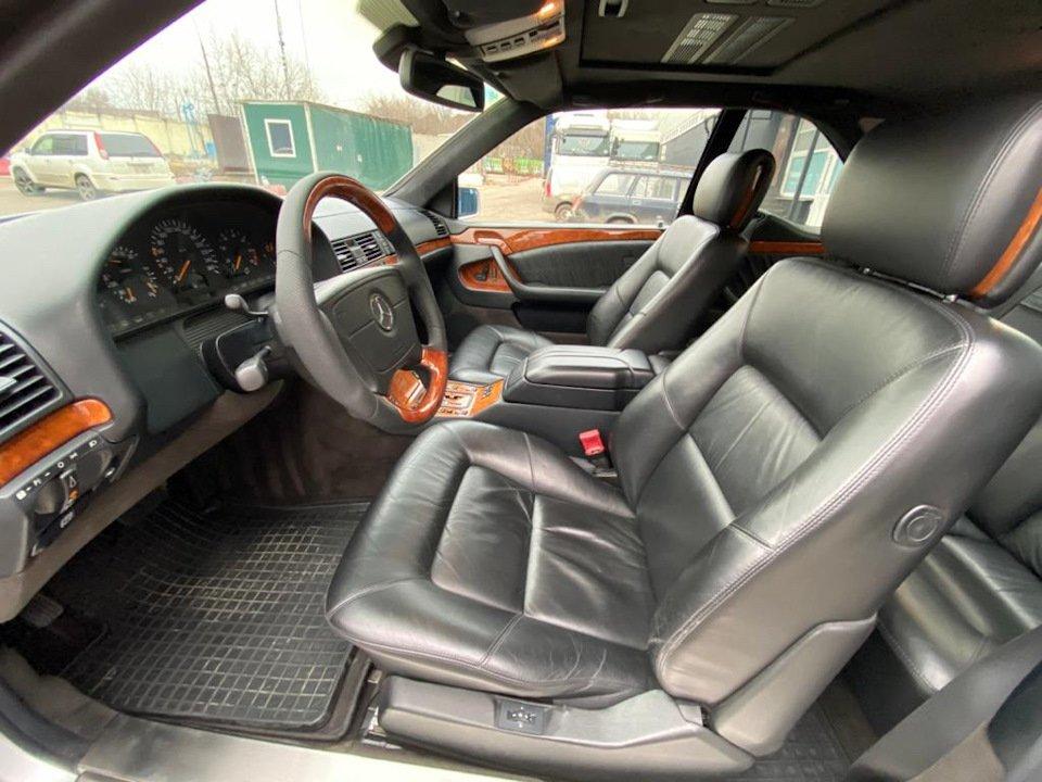 Mercedes-Benz CL500 C140 320HP 1998 (8)
