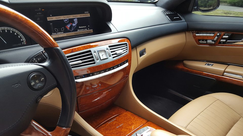 Mercedes-Benz CL550 AMG 2007 388HP W216 (15)