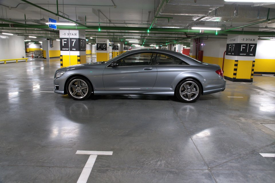 Mercedes-Benz CL63 AMG Perfomance Pack W216 (12)