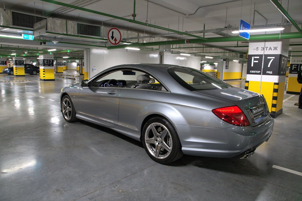 Mercedes-Benz CL63 AMG Perfomance Pack W216 (13)