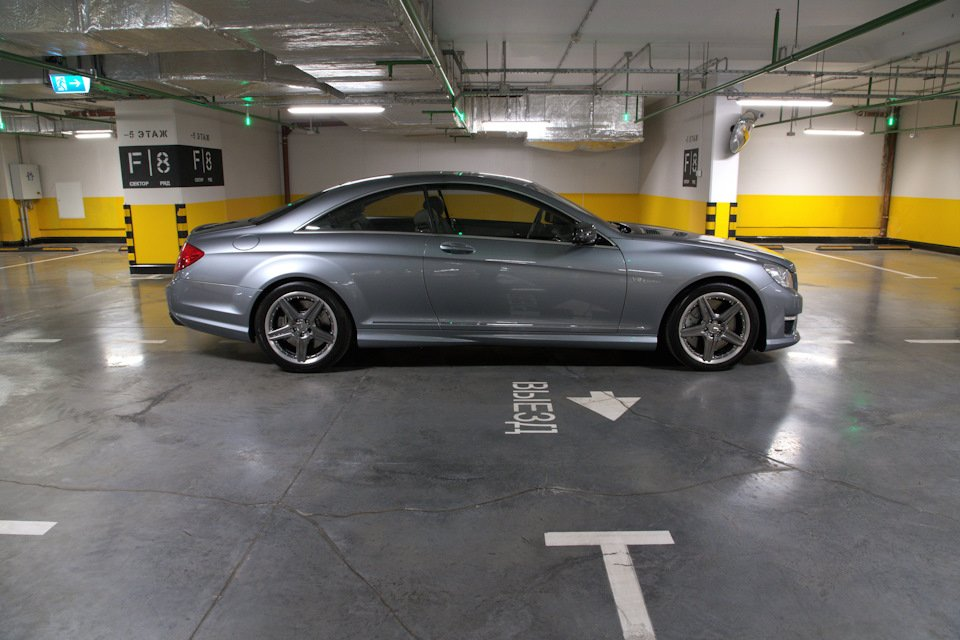 Mercedes-Benz CL63 AMG Perfomance Pack W216 (14)