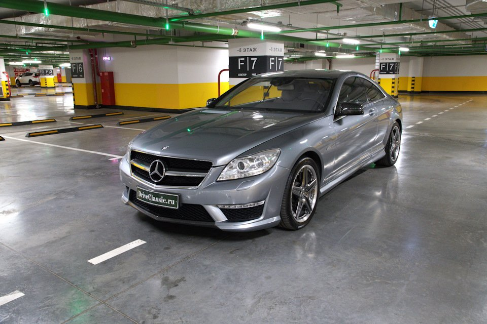 Mercedes-Benz CL63 AMG Perfomance Pack W216 (3)