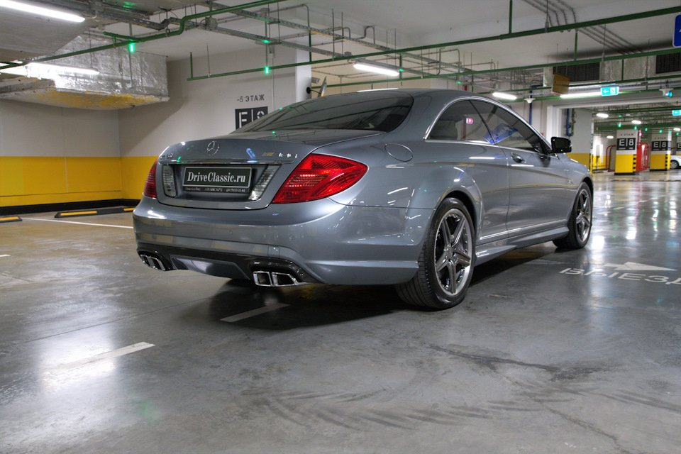 Mercedes-Benz CL63 AMG Perfomance Pack W216 (7)