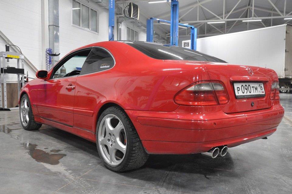 Mercedes-Benz CLK 3.2 W208 KLEEMANN (109)