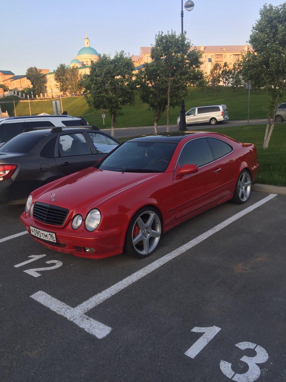 Mercedes-Benz CLK 3.2 W208 KLEEMANN (116)