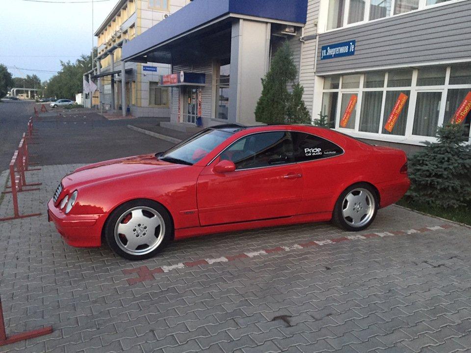 Mercedes-Benz CLK 3.2 W208 KLEEMANN (117)