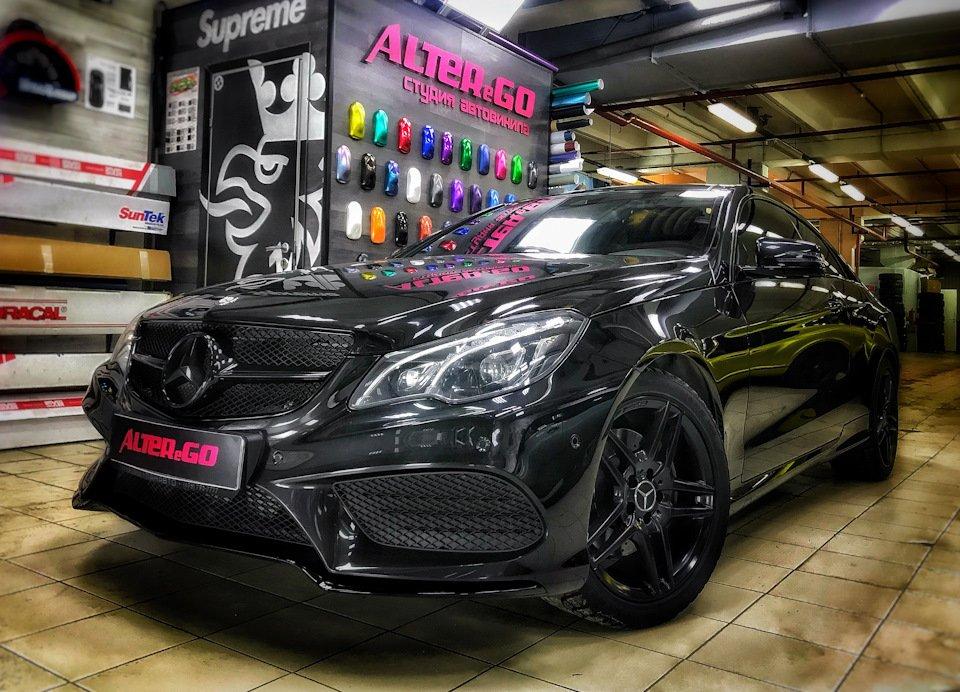Mercedes-Benz E-class Coupe (C207) (10)