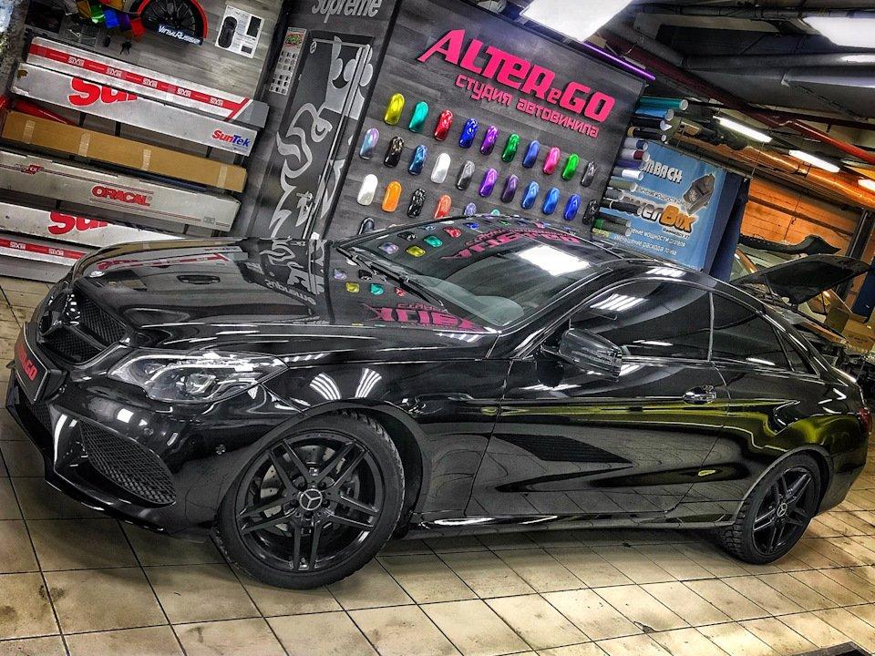 Mercedes-Benz E-class Coupe (C207) (17)