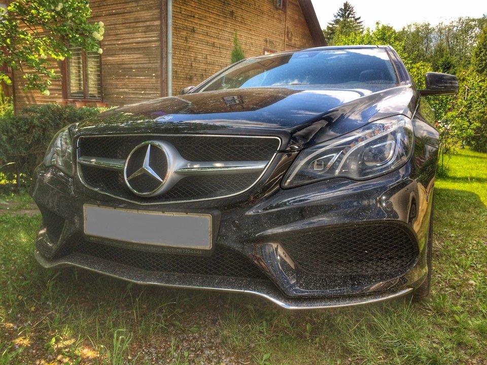 Mercedes-Benz E-class Coupe (C207) (21)