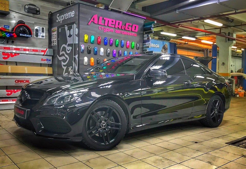 Mercedes-Benz E-class Coupe (C207) (25)
