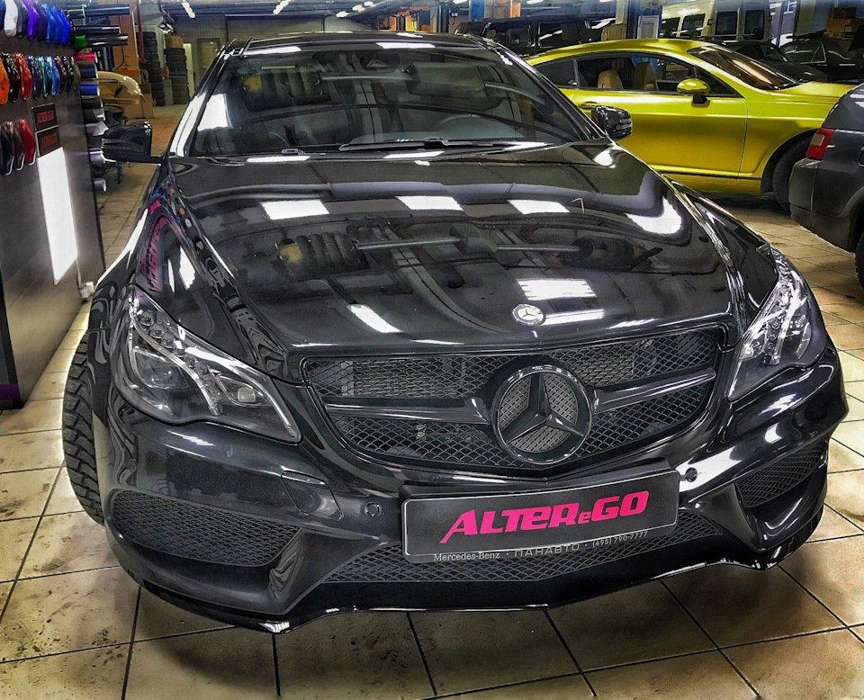 Mercedes-Benz E-class Coupe (C207) (28)