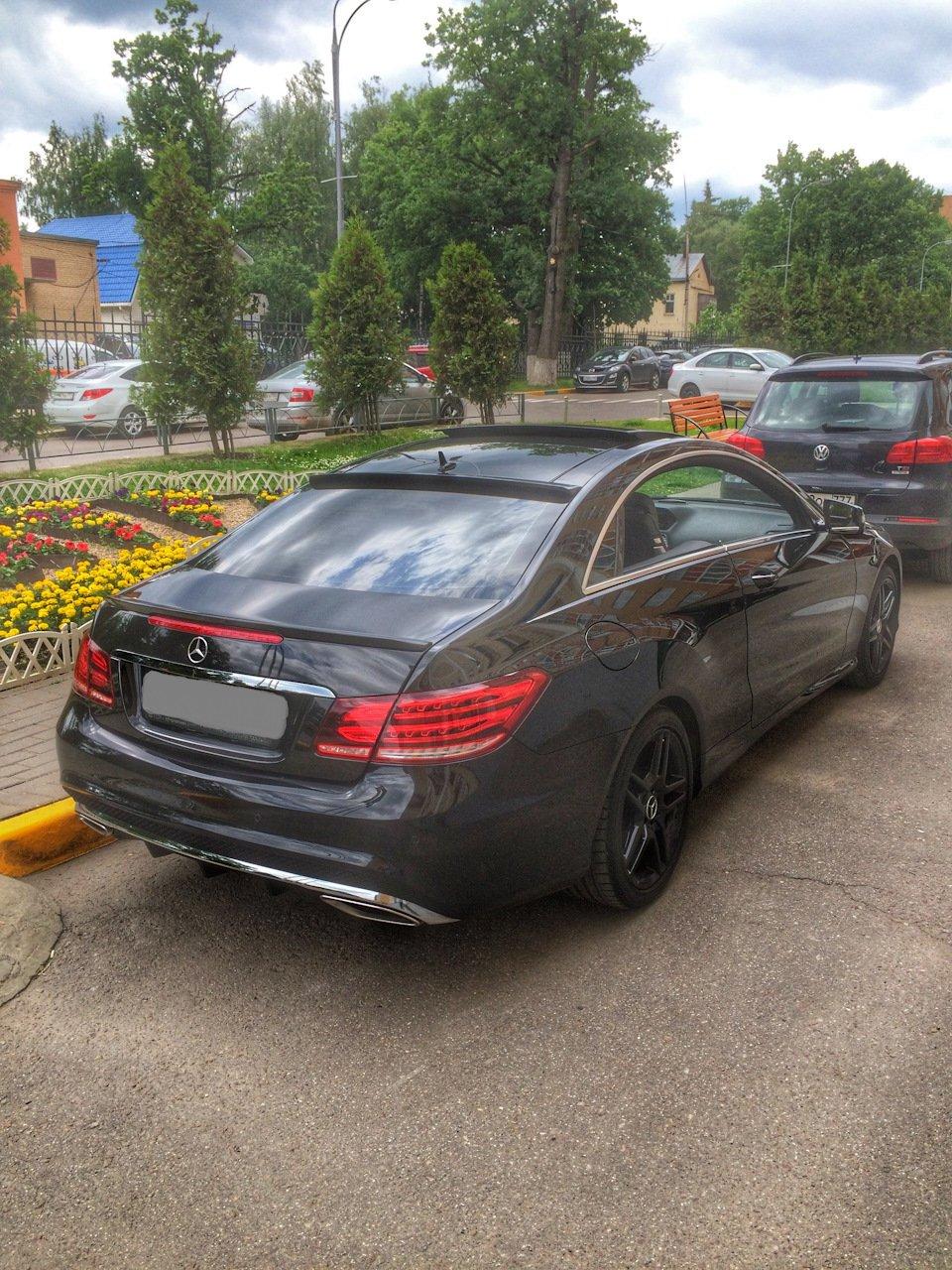 Mercedes-Benz E-class Coupe (C207) (6)
