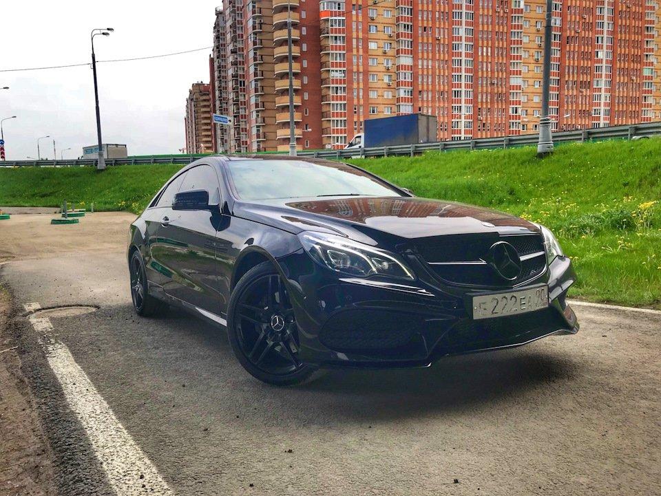 Mercedes-Benz E-class Coupe (C207) (7)